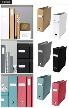 Organization at Home-want these for all of my ancestry items (but don't feel like redoing them haha) and every binder I have in my posession
