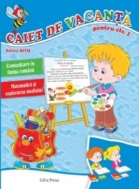 Caiet de vacanta pentru clasa I -- Adina Nitu  -- Erc Press -- 12 lei Lei, Princess Peach, Fictional Characters, Fantasy Characters