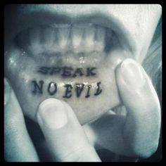 Hope to get a lip tattoo someday.