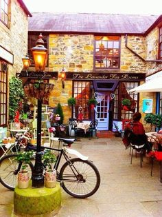 The Lavender Tea Rooms, Bakewell, Derbyshire, England