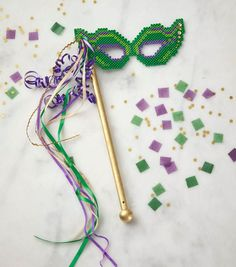 Celebrate Mardi Gras with a fun mask you create from Perler beads. Assembly is quick and easy! Joann Crafts, Joanns Fabric And Crafts, Hama Beads Patterns, Beading Patterns, Mardi Gras, Bead Crafts, Arts And Crafts, Diy Crafts, Diy Perler Beads