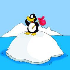 Pinguingeschichte - Cover - für Kinderbuch, mehr auf www.comicwald.de