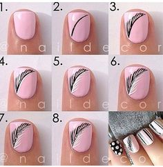 Nail art - feathers  Free Nail Technician Information  http://www.nailtechsuccess.com/nail-technicians-secrets/?hop=megairmone  Pinterest Marketing  http://mkssocialmediamarketing.mkshosting.com/  More Fashion at www.thedillonmall.com  Free Pinterest E-Book Be a Master Pinner  http://pinterestperfection.gr8.com/