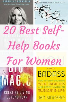 20 Best Self-Help Books For Women – Special Learning House 20 self-help books for women. These are the books that will help you be your happiest, most successful and best self! Self Love Books, Best Self Help Books, Best Books To Read, Good Books, Amazing Books, Ya Books, Books To Read For Women, Books For Moms, Books To Read In Your 20s