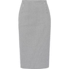 Hugo Boss Vilea Wool Stretch Pencil Skirt ($180) ❤ liked on ...