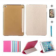 Smart, nahka kotelo   pc läpikuultava takakannen Apple iPad ilma 2   kylkiäisenä suojaavan kalvon   kosketuskynällä - EUR € 13.71