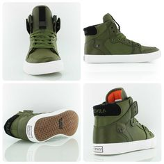 Supra x Rothco Vaider / Check out this exciting collabo between skate veterans Supra and military gear expert Rothco.