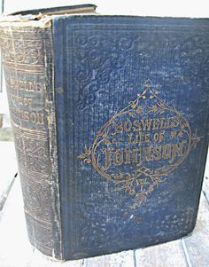 Antique book with embossed cover 1800's by LittleBeachDesigns, $16.00