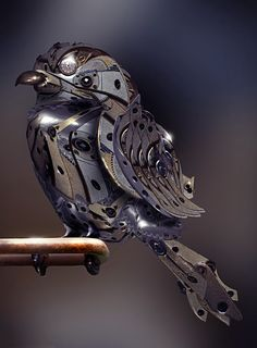 Steampunk Bird Clockwork