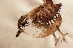 Tiny Embroidered Animals by Chloe Giordano illustration embroidery animals