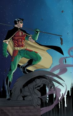 Robin, The Boy Wonder - Jak Bartok