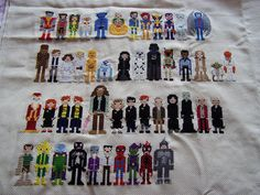 Really cool cross stitch with X-Men, Star Wars, Harry Potter, Marvel characters Cross Stitching, Cross Stitch Embroidery, Embroidery Patterns, Cross Stitch Patterns, Marvel Cross Stitch, Star Wars Crochet, Stitch Witchery, Cross Stitch Needles, Marvel Characters
