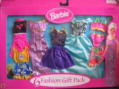 barbie fashion gift pack 1998 - Google Search