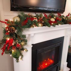 Amazing Christmas Garland Decoration Ideas To Freshen Up Your Home 16