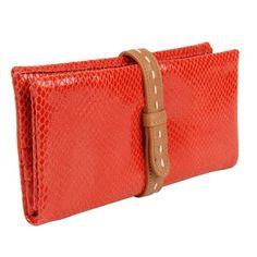 Carteira Couro Coral Shoestock - R$ 69,90