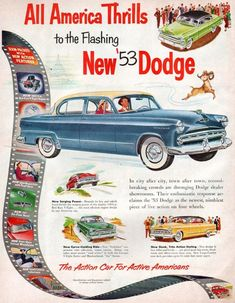 """""""We don't want this ad to just sell a few cars. We want to incite mass hysteria."""" (Funny bad retro Dodge ads)"""