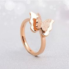 Buy 'Claudette – Butterfly-Accent Ring' with Free International Shipping at YesStyle.com. Browse and shop for thousands of Asian fashion items from China and more!