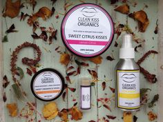 Clean Kiss Organics body care review
