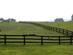 """Black stained fencing is popular in our area. It's called """"equine black"""" stain. It has a bitter taste that discourages nibbling by farm critters. Pasture Fencing, Horse Fencing, Farm Fence, Diy Fence, Fence Ideas, Fence Gates, Cedar Fence, Wooden Fence, Split Rail Fence"""