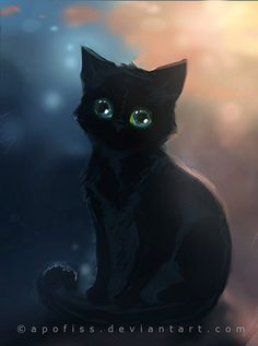 Kitty art   apofiss.deviantart.com