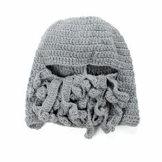 >> Click to Buy << BomHCS Men's Thick Cable 100% Handmade Knit Squid Beanie Hat Cap #Affiliate