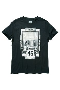 Buy Black LA Photo T-Shirt from the Next UK online shop