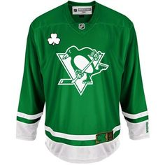 Pittsburgh Penguins St. Patrick s Day Green Jersey Nhl Pittsburgh Penguins c1e8113d9
