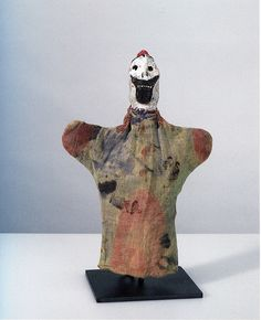 Untitled - from OLd Chum - Paul Klee - hand puppets set
