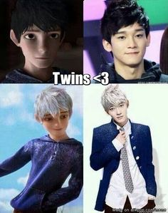 Kpop ☆ EXO ☆ Why is Chen so good in cosplay xD Luhan, K Pop, Kdrama, Xiuchen, Kim Minseok, Meme Center, Exo Memes, Exo K, Kris Wu
