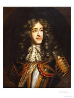 Portrait of James, Duke of York (1633-1701) as Lord High Admiral, Later King James II of England Giclée-Druck von Henry Gascars bei AllPosters.de