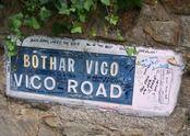 Vico Road, Killiney. Bono's place.