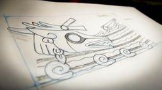 Mictlán Sketch.