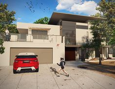 """Check out new work on my @Behance portfolio: """"3D Visualization –  House"""" http://be.net/gallery/37562315/3D-Visualization-House"""