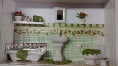Cenário de banheiro nº 10   Dyaradecorações   Elo7
