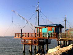 Trabucco: old fishing machine - Marche, Italy