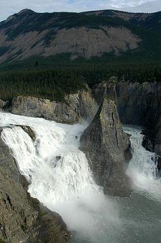 Virginia Falls  Northwest Territories Canada