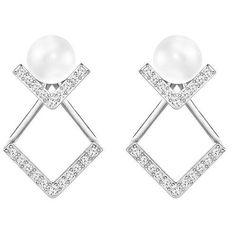 Swarovski Edify Pierced Earrings - 5219762, Women's