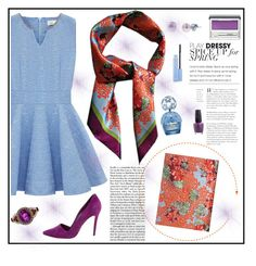 """""""LISAN LY"""" by gaby-mil ❤ liked on Polyvore featuring Clinique, LE VIAN, Honora, OPI, Alice + Olivia and Marc Jacobs"""