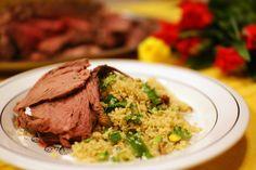 Keittotaiteilua: Karitsanviulua ja couscousta Lähi-idän tapaan