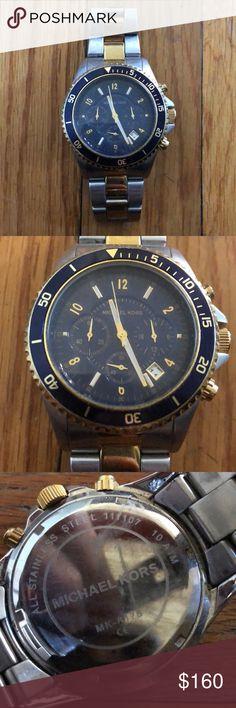 Men's Michael Kors watch Great condition my boyfriend just doesn't wear it Michael Kors Accessories Watches