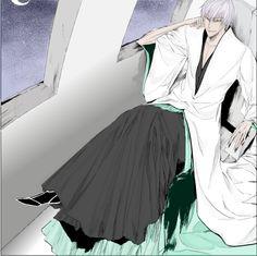 Ichimaru Gin by JiraiyasLover on DeviantArt Bleach Fanart, Bleach Manga, Gin Bleach, Ichimaru Gin, Rangiku Matsumoto, Bleach Characters, Shinigami, Manga Comics, My Crush