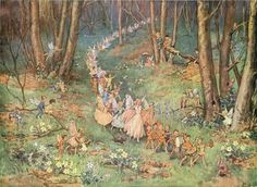 The Fairy Way - Margaret W Tarrant - MEDICI PRINT | eBay