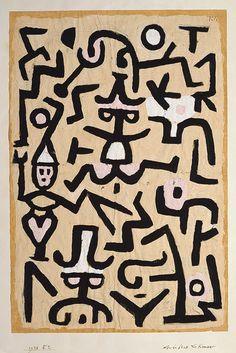 Paul Klee: Comedians' Handbill (1984.315.57)   Heilbrunn Timeline of Art History   The Metropolitan Museum of Art