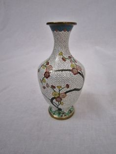 Vintage Chinese Cloisonne Vase by FloridaFound on Etsy