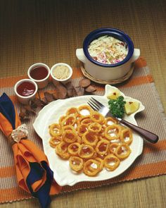 "Calamari Rings, from ""Hooked on Seafood."""