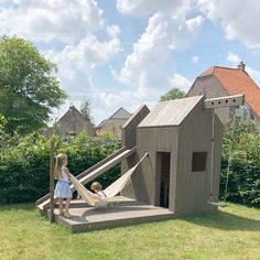 Backyard Playground, Backyard For Kids, Backyard Garden Design, Backyard Landscaping, Balcony Garden, Br House, Tiny House, House Porch, Design Jardin