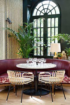 10 bars et restaurants tropicaux autour du monde Eugène, Eugène, Puteaux  38-40 Rue Eugène Eichenberger, 92800, www.eugene-eugene.fr