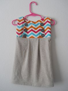 Toddler Chevron Dream Dress. $15.00, via Etsy.