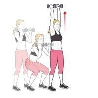 Strength training workout. Get rid of those last few kilos.