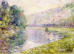 The Train at Jeufosse Claude Monet